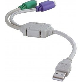 Adaptor, USB - PS/2