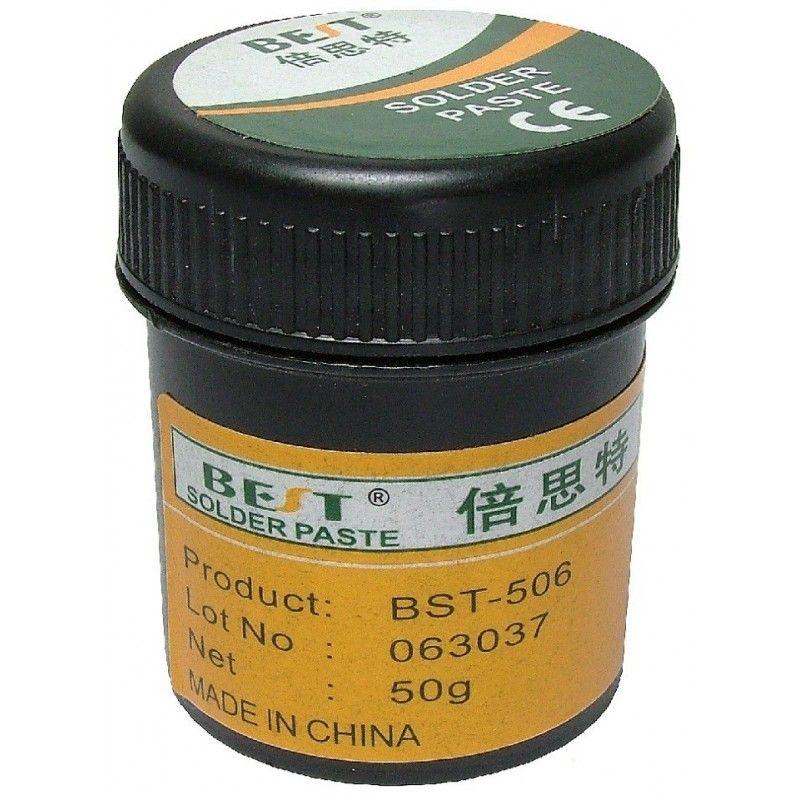 Pasta pentru lipit, BGA rework, cu flux, 20 grame BRUT - BST-506