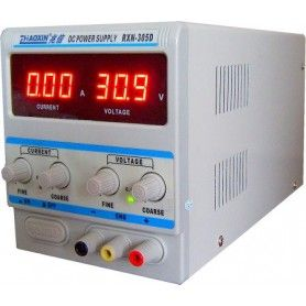 Sursa de laborator, simpla, af. digital, 0-30V - 0-5A - RXN-305D