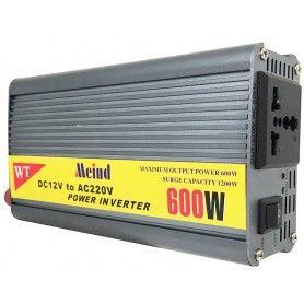 Invertor de tensiune, 12V - 220V - 600W