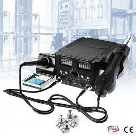 Statie de lipit SMD cu aer cald si letcon, afisaj digital YCD-8582D