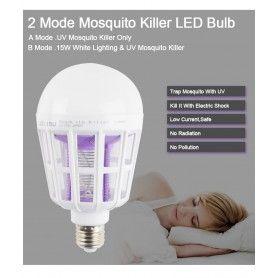 Bec LED 15W si Lampa UV Anti tantari, insecte