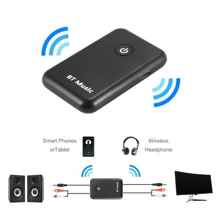 Transmitator si Receptor Bluetooth Audio jack 3,5mm