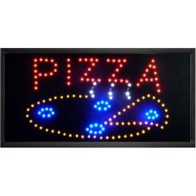 Panou Reclama Afisaj Luminos Led PIZZA