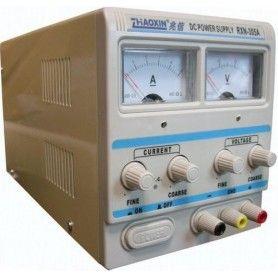 Sursa de laborator, simpla, af. analog, 0-30V - 0-3A - RXN-303A