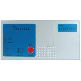 Tester pentru verificarea cablurilor UTP (RJ11), USB A, USB B, IEEE, BNC