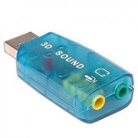 Placa de sunet externa, conectare prin portul USB