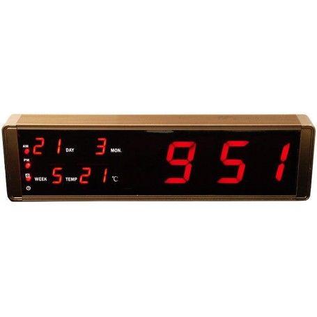 Ceas electronic cu alarma, termometru, afisaj digital