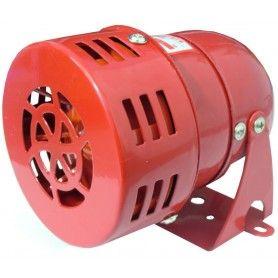 Sirena pentru alarmare, cu motor, alimentare: 24V, c.c.