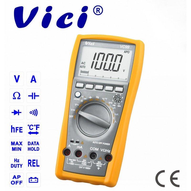 Aparat de masura digital, cu autoscalare, VC99