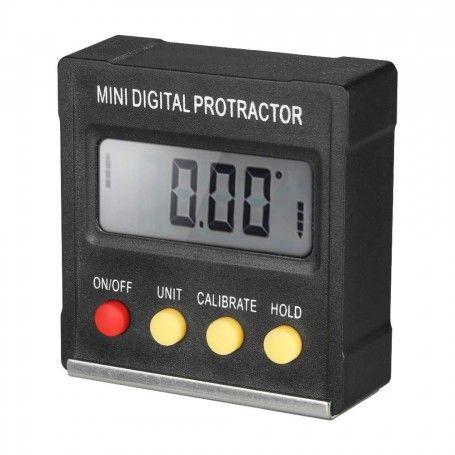 Inclinometru digital cu baza magnetica