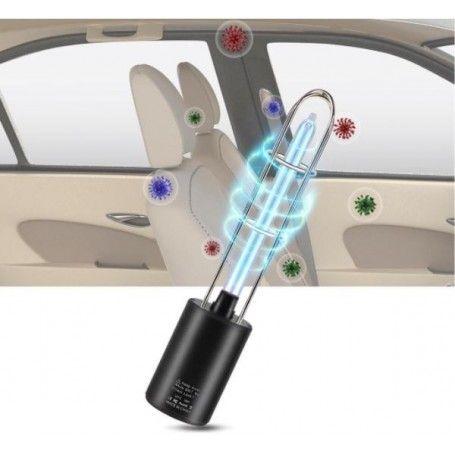 Purificator aer UV, ionizator masina, dezinfectare virusi, bacterii