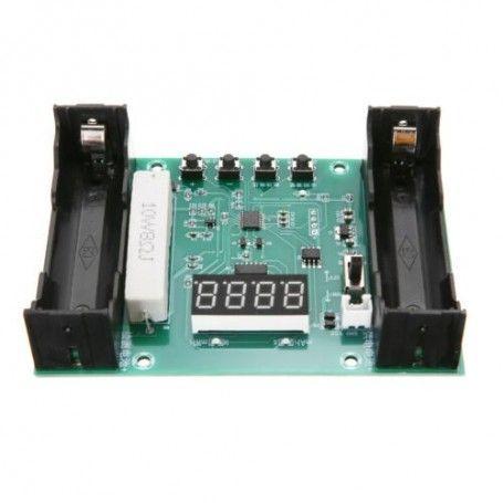 Modul, tester capacitate acumulator Li-Ion tip 18650, afisaj cu LED - XH-M240